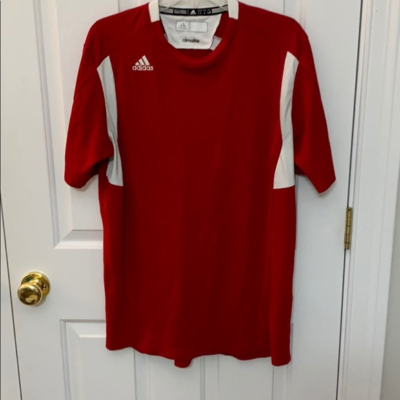 adidas Other - Adidas climalite large red shirt